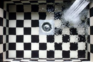 plumbing services, block drains